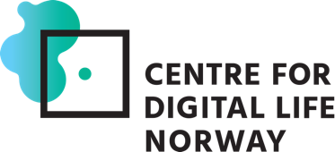Logo for Centre Digital Life Norway (DLN)