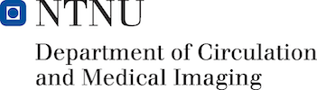 Logo for Dept. of Circulation and Medical Imaging, NTNU